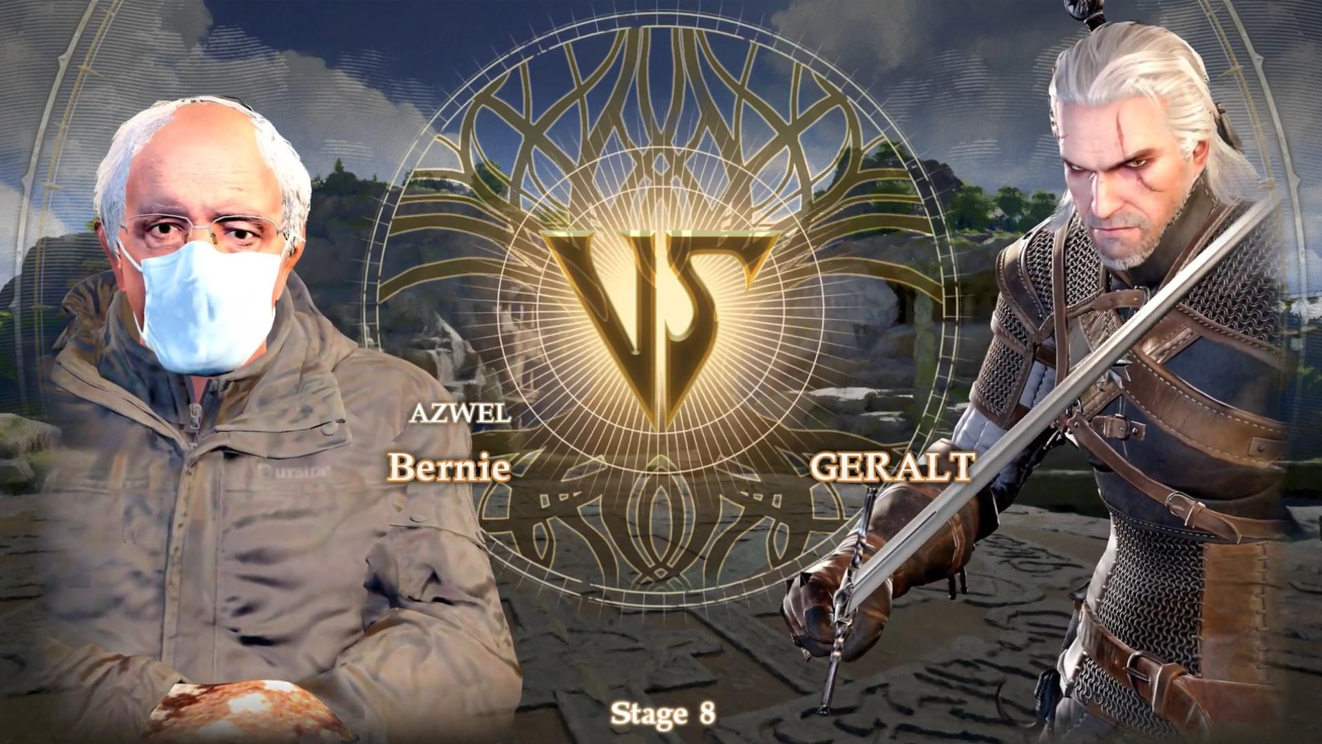 The Bernie Sanders meme is now a playable Soulcalibur 6 character