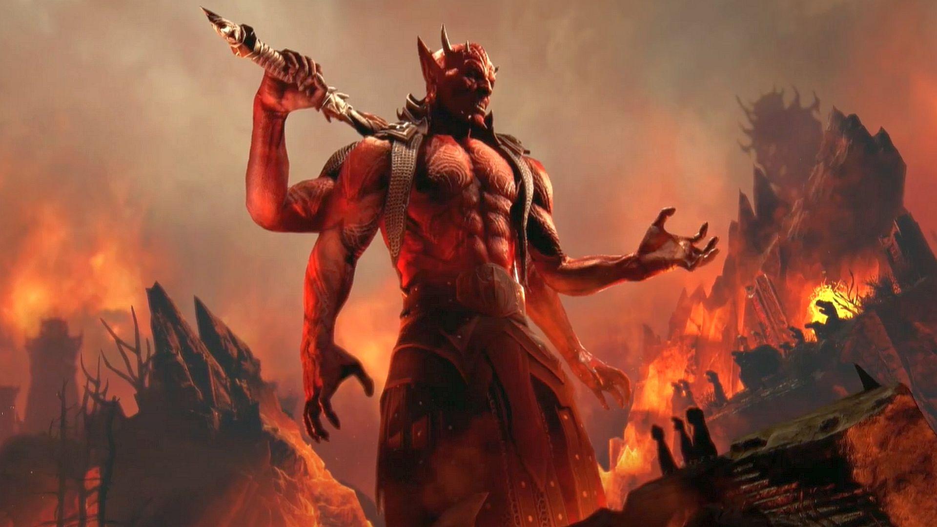 """""""You'll spend """"a lot of time in The Deadlands"""" in Elder Scrolls Online's Oblivion DLC"""