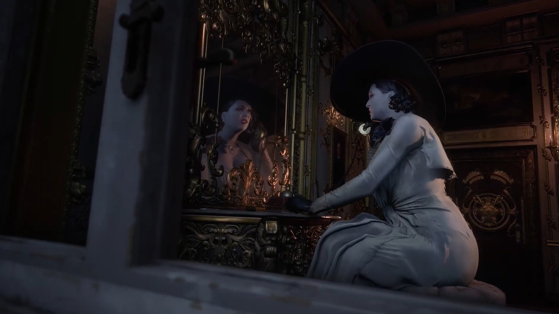 RE8's Lady Dimitrescu is based on a serial killer, a Japanese myth, and Morticia Addams