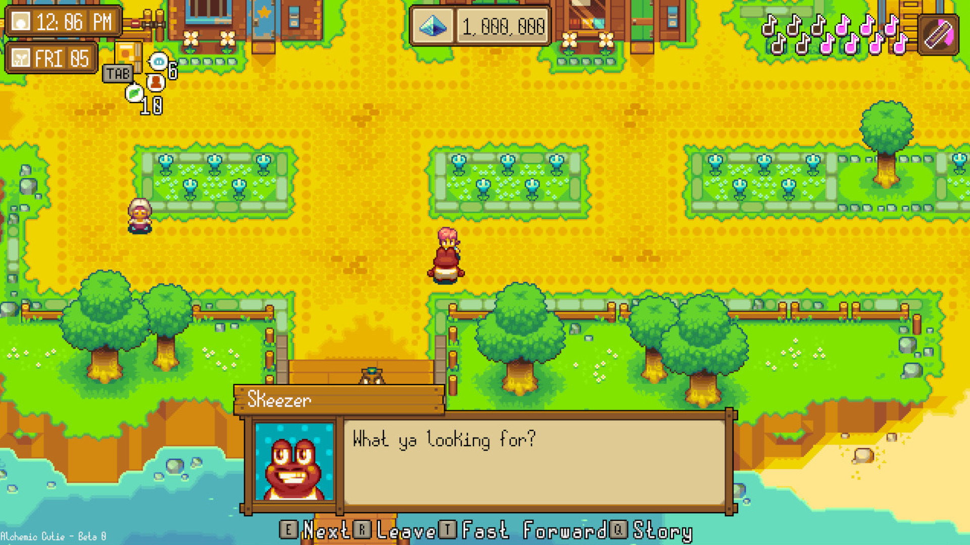 Stardew Valley-like magical farming RPG Alchemic Cutie launches this July
