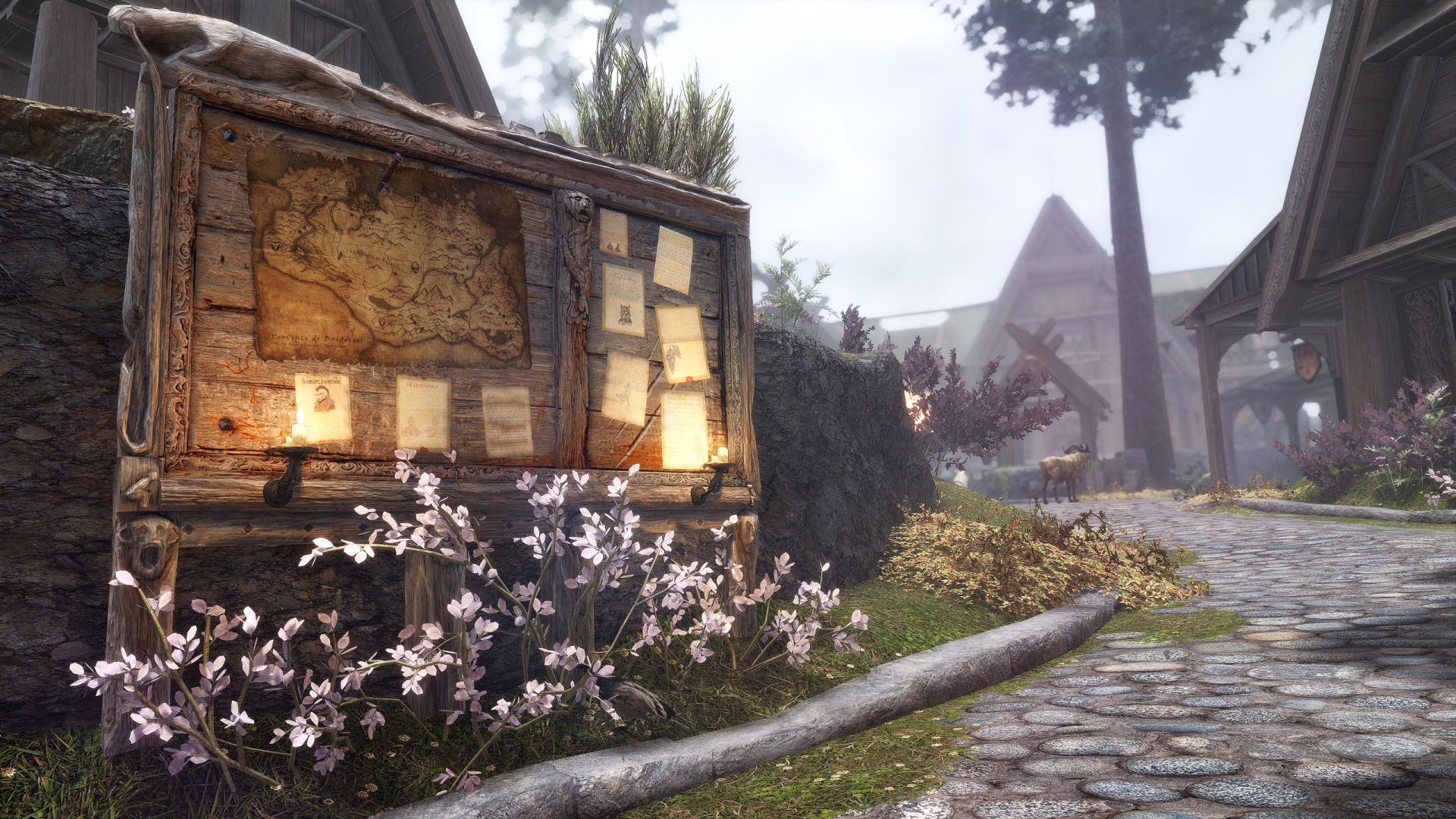 This Skyrim mod adds The Witcher 3's quest boards