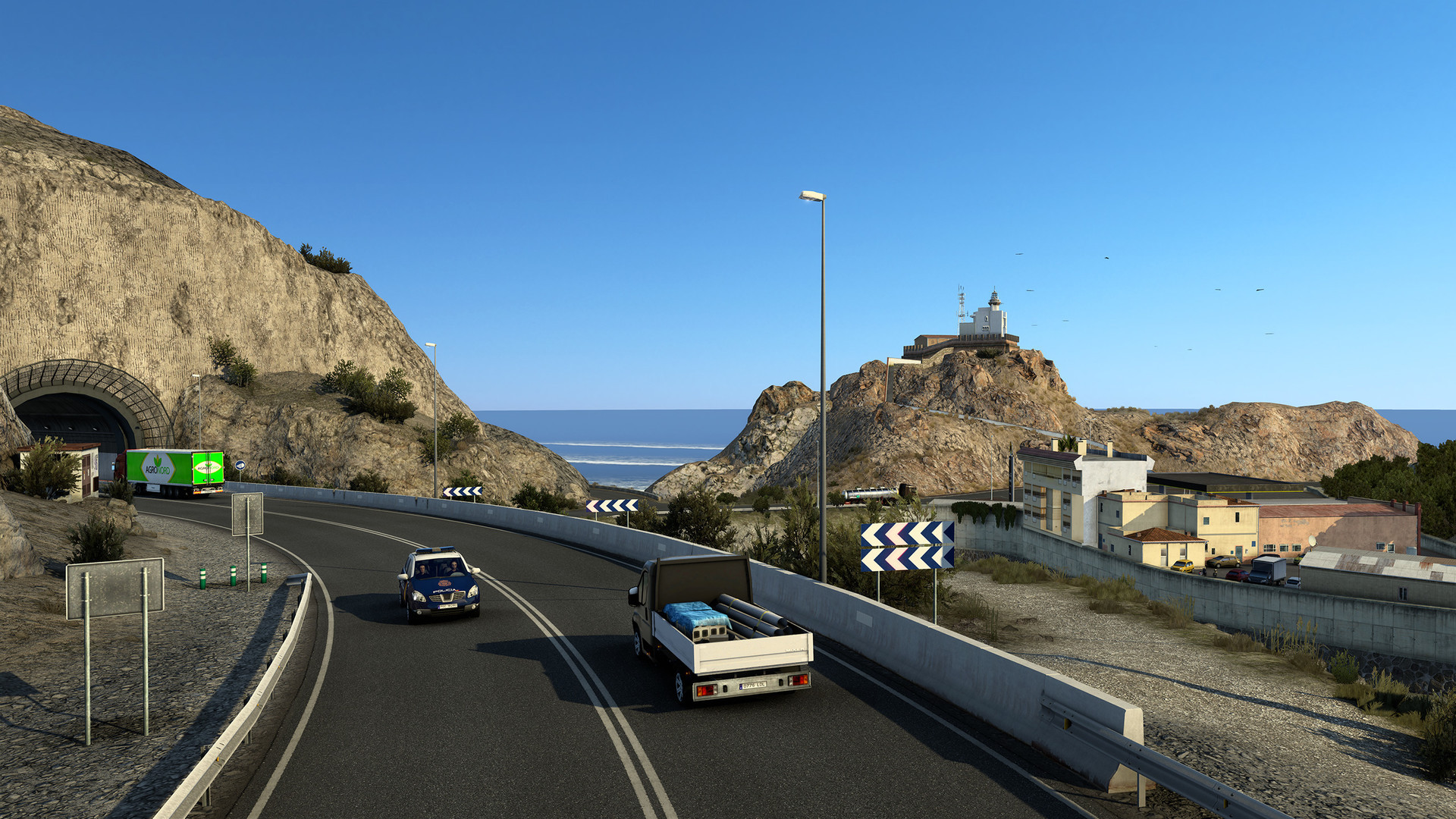 Euro Truck Simulator 2's Iberia is a Steam top seller