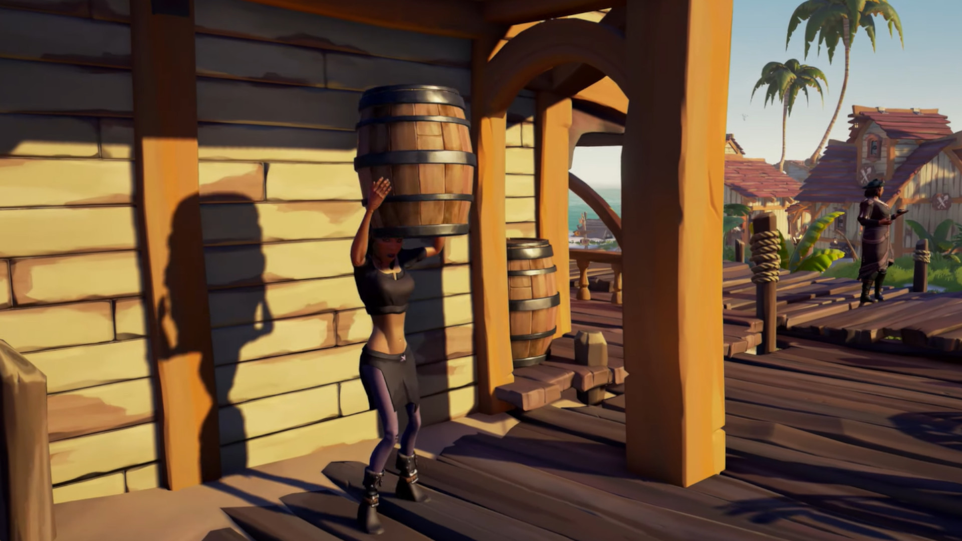 Sea of Thieves Season 2 starts next week and lets you hide in a barrel