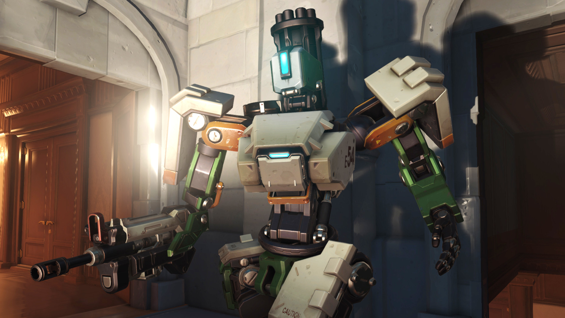 """Overwatch 2 will rework Bastion """"from the ground up"""""""