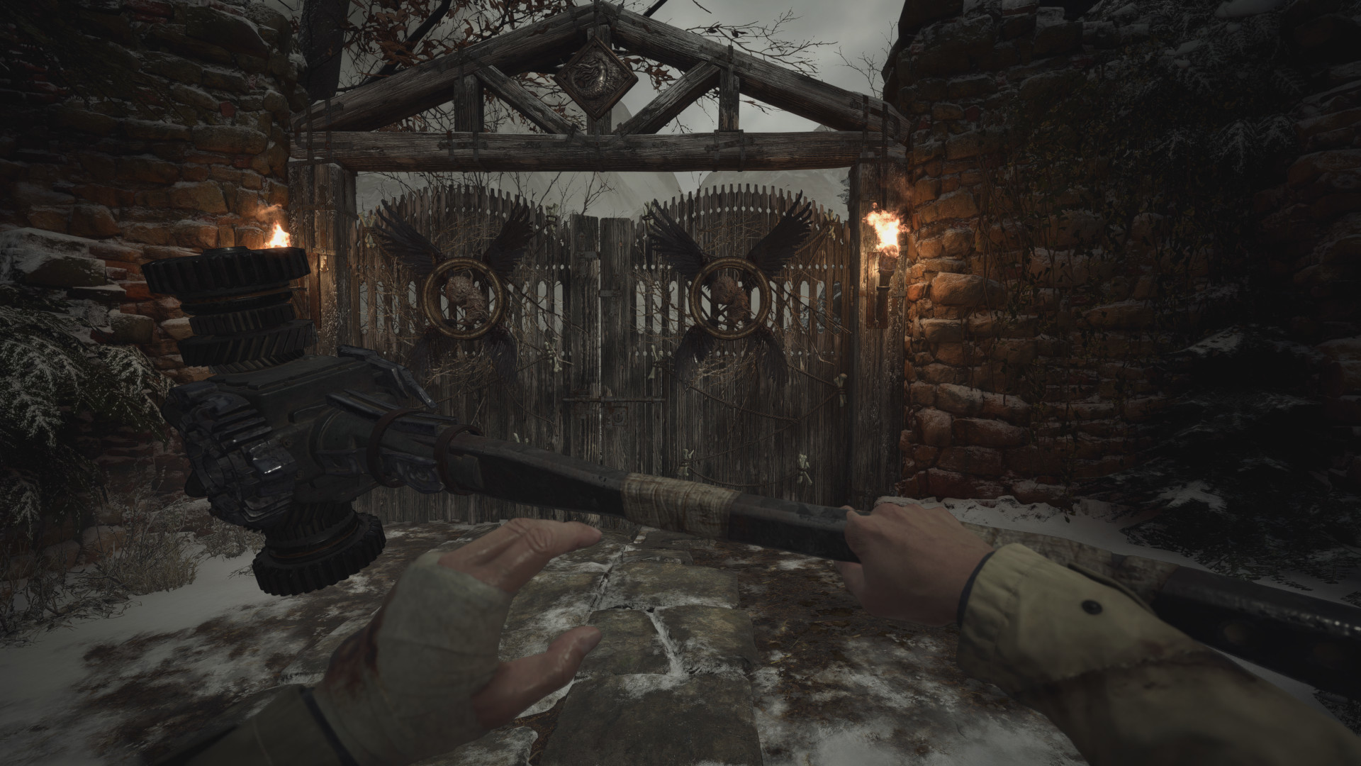 This Resident Evil Village mod turns your knife into Heisenberg's hammer, or any other melee weapon