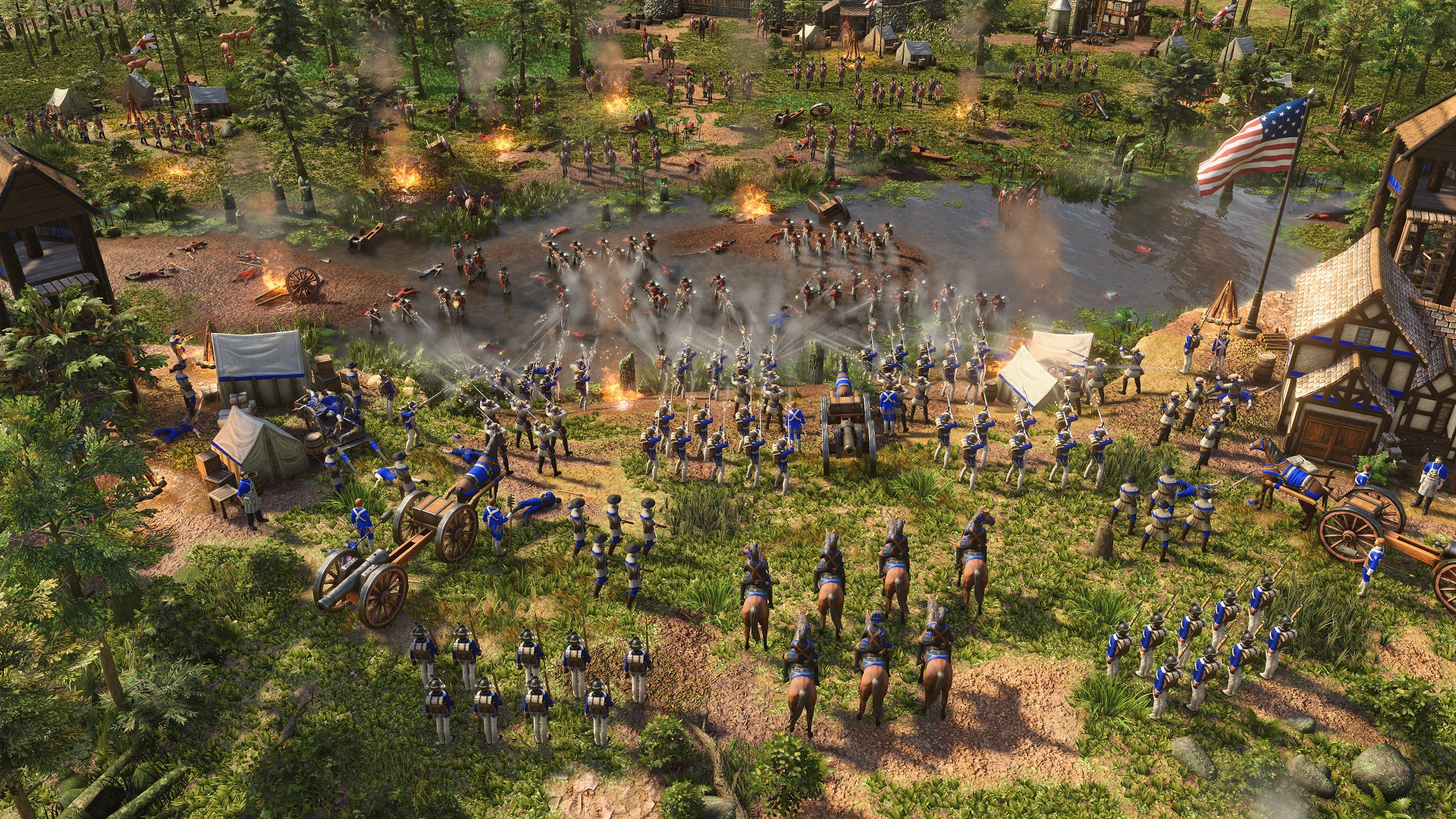 You have less than a month to unlock Age of Empires 3's US civ for free