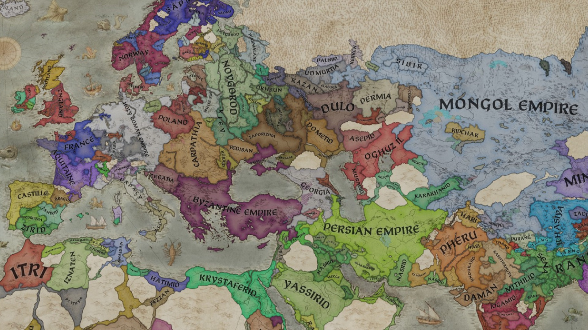 Crusader Kings 3 patch 1.4 'Azure' improves warfare, traits, and interactions