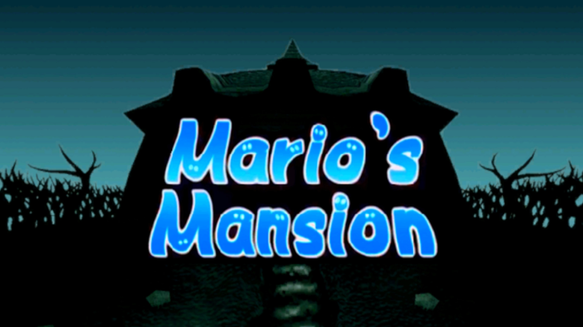 Luigi's Mansion is now Mario's Mansion, thanks to a ROM hack