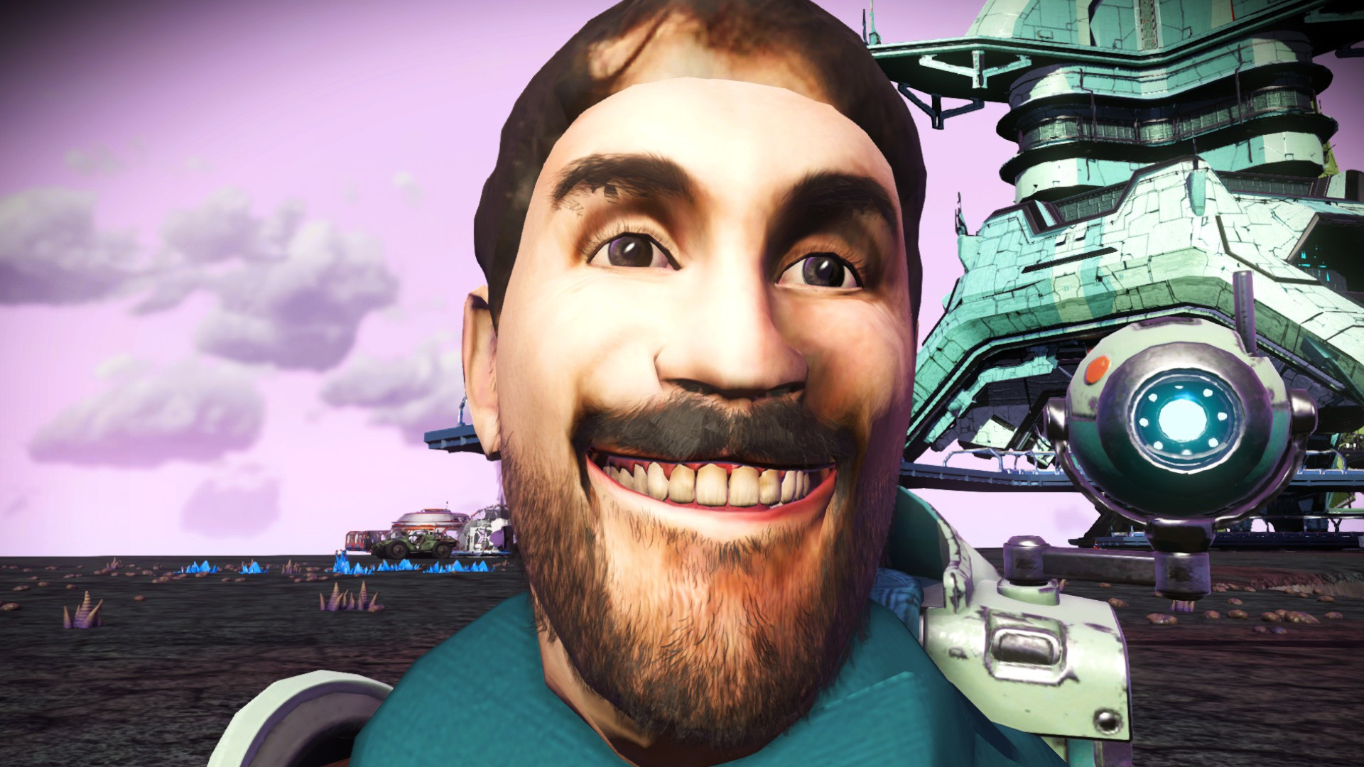 No Man's Sky creator says please don't use this mod that puts his face in the game