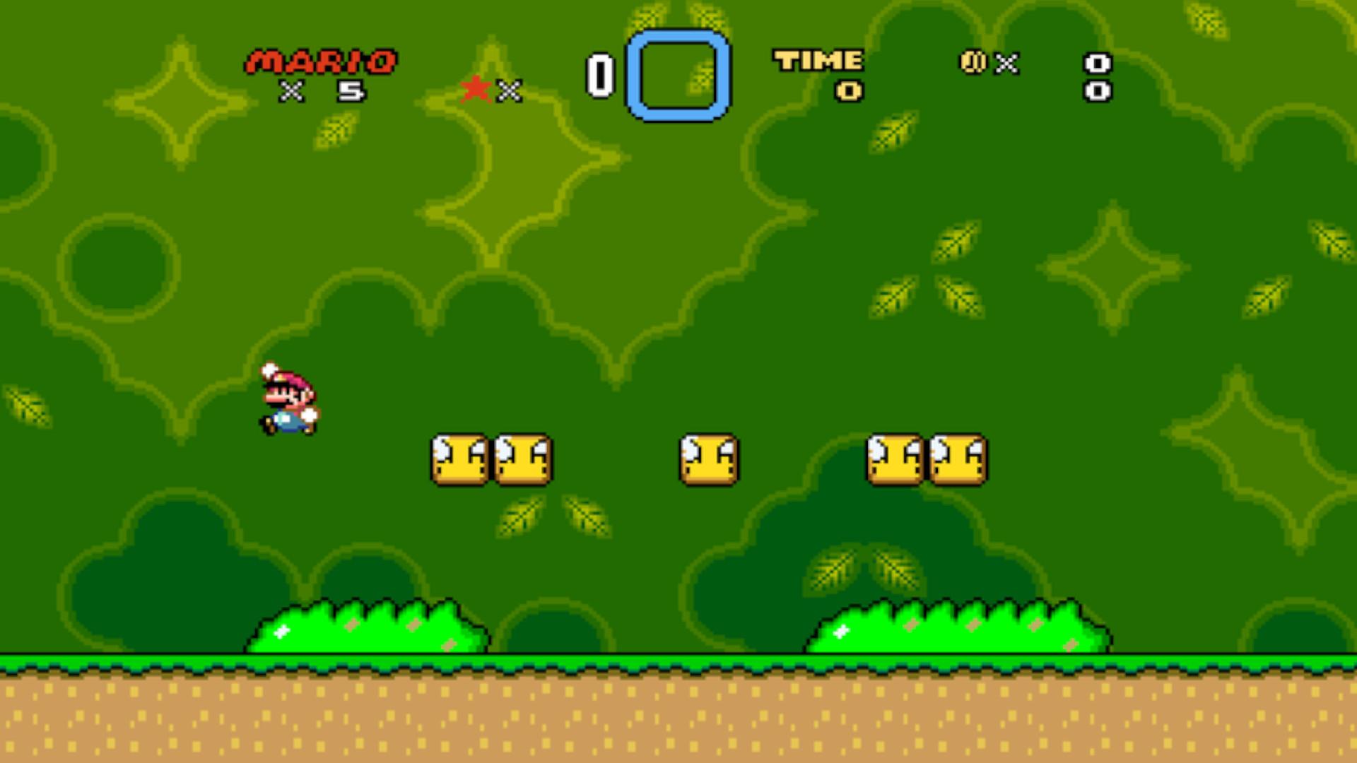 Super Mario World Widescreen launches next week
