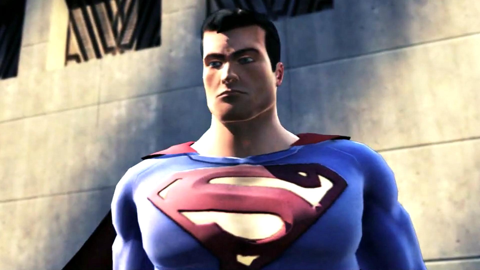 Superman nearly got a game alongside Batman: Arkham Asylum by Rogue Squadron devs