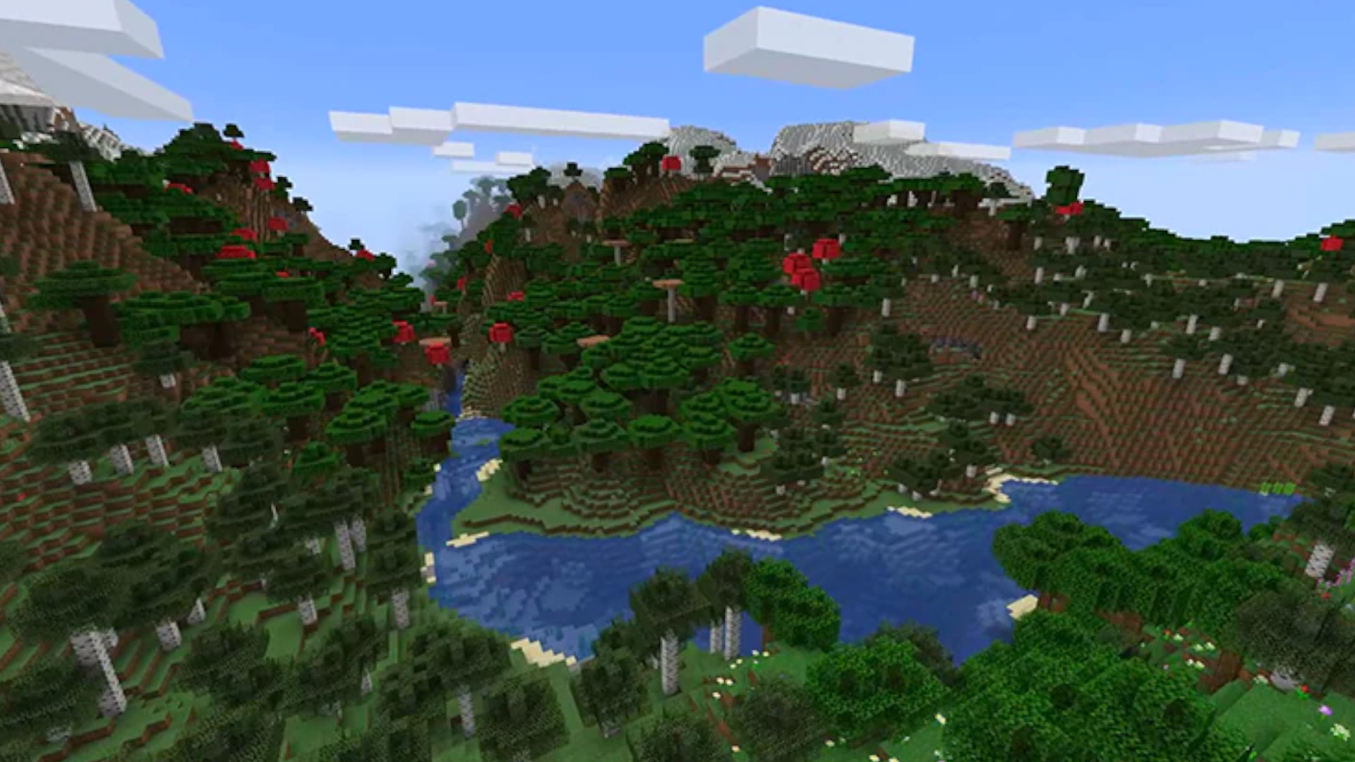 Minecraft adds another new mountain biome for 1.18