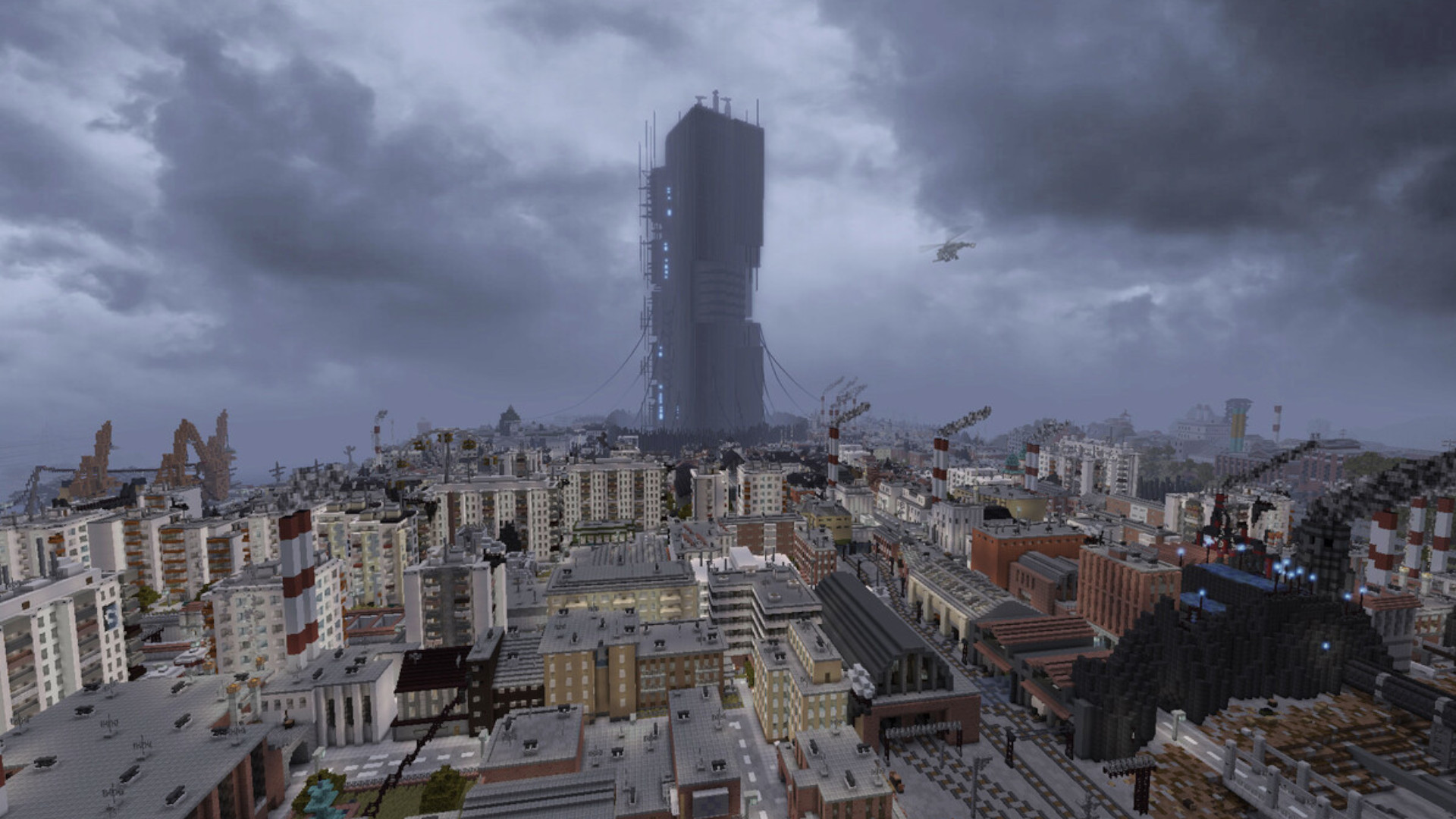Players have spent five years rebuilding all of Half-Life 2 in one Minecraft map