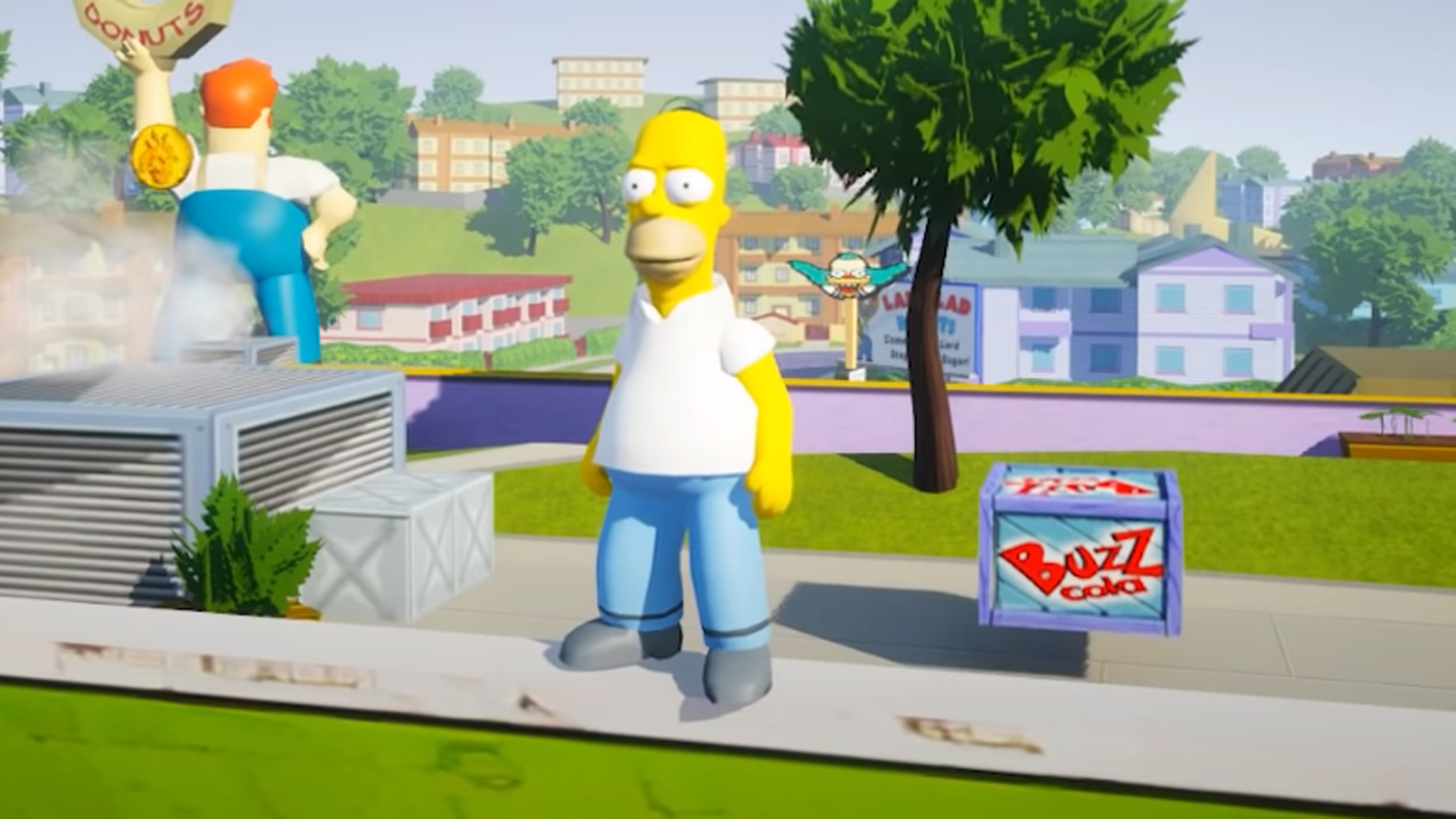 The Simpsons: Hit & Run has been remade in Unreal 5