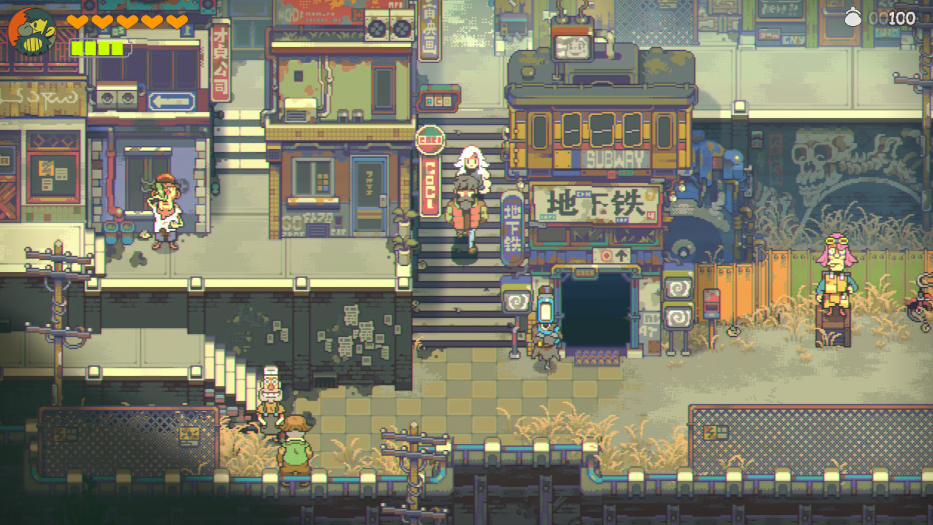 Zelda meets The Last of Us in Eastward, coming to Steam next month