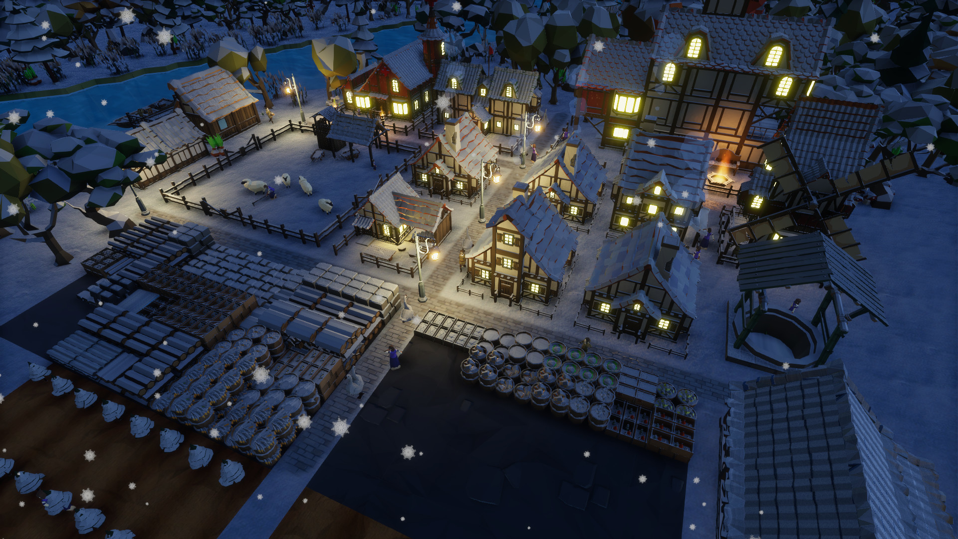 City-builder Settlement Survival will head into Early Access ahead of schedule